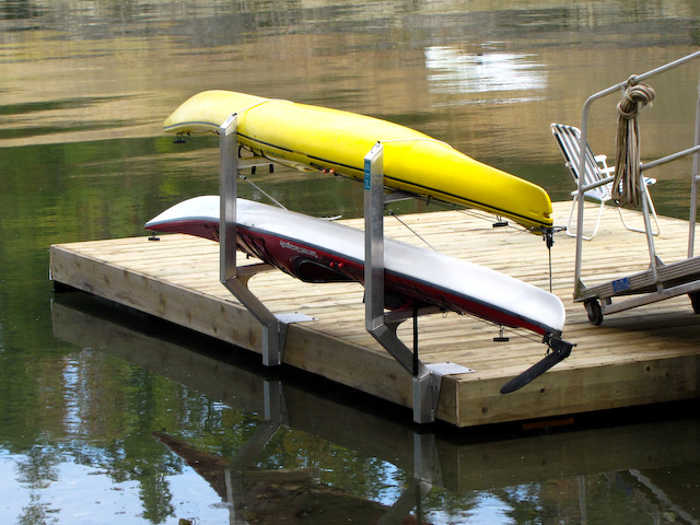 kayak rack