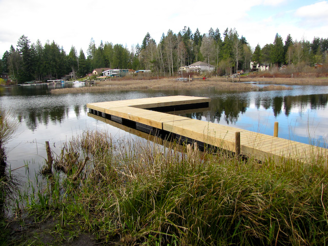 Shawnigan Lake dock